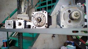 ABB servo motorun tamiri